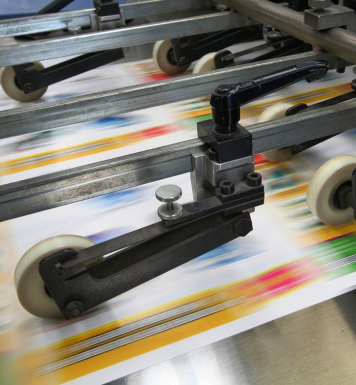 Print production commercial printing