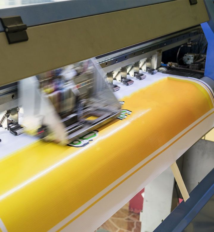 Print production large format